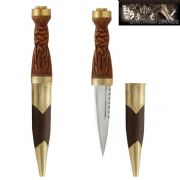 18th Century Highlanders Sgian Dubh - Brown